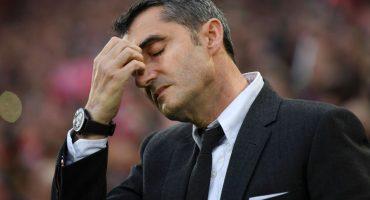 Muy eliminados y todo, pero Valverde seguirá siendo el DT del Barcelona