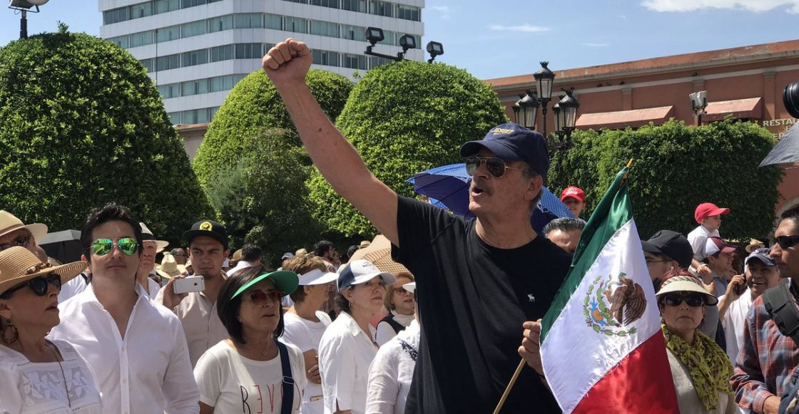 Vicente Fox en marcha