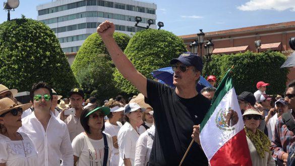 Vicente Fox en marcha