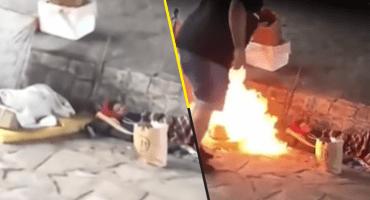 Humanidad: Queman a dos indigentes en Argentina y lo graban a carcajadas