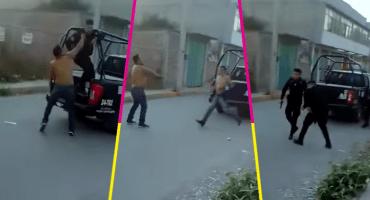 México mágico: Desarma a policía de Ecatepec para rescatar a sus dos amigos