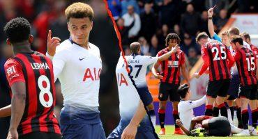 Mal día para Tottenham: 2 expulsiones y sigue sin amarrar puesto de Champions League