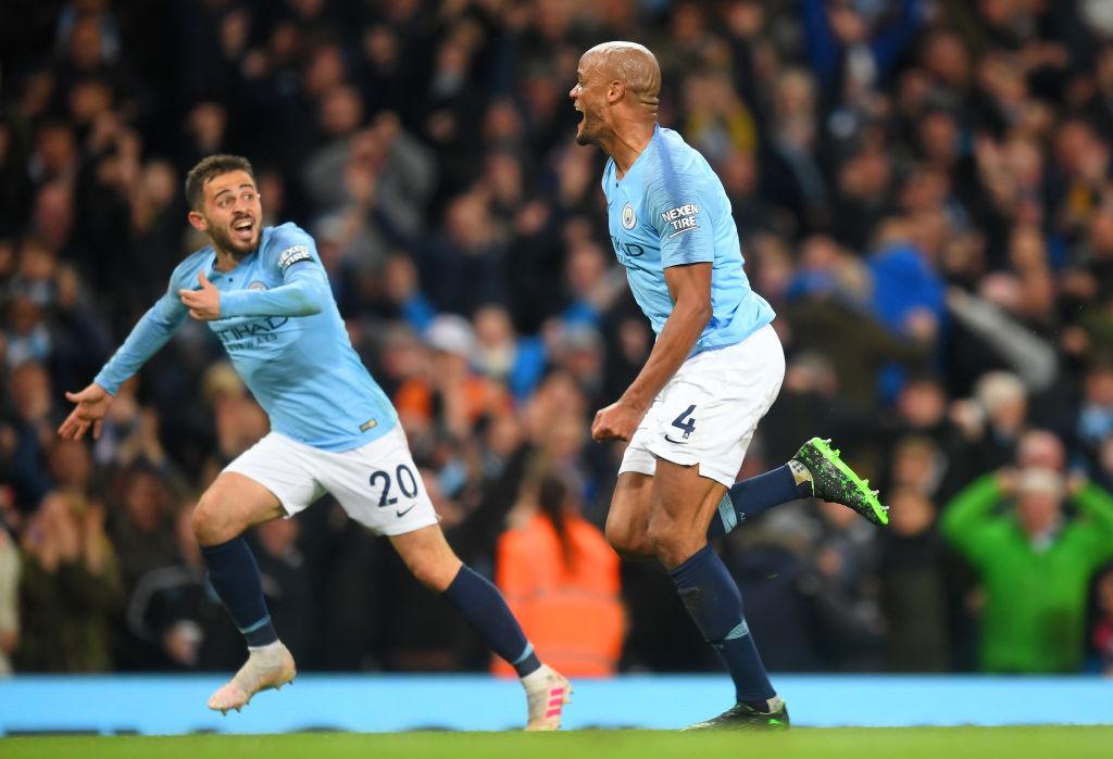 El golazo de Kompany que acerca al Manchester City al título de Premier League