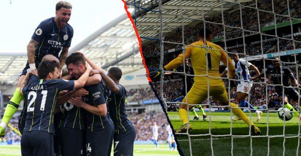 ¡Los goles con los que Manchester City se coronó campeón de la Premier League!