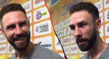 """Layún enfrentó a periodista que comentó que """"Rayados salió a defender el resultado"""""""