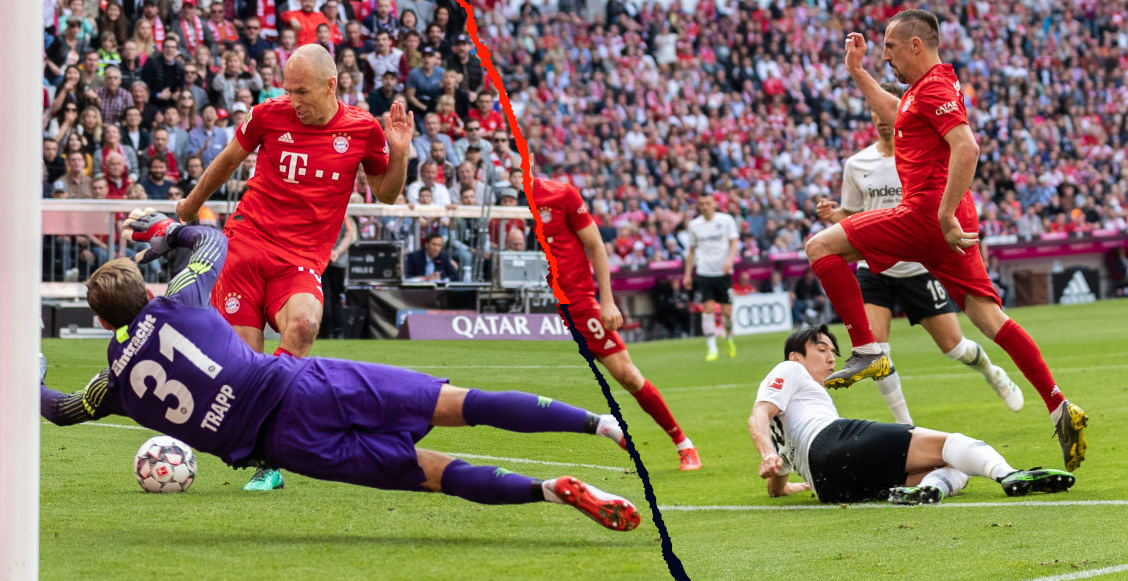 Los goles de Ribery y Robben con los que se despidieron del Bayern Múnich