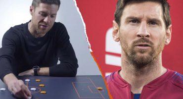 Esta es la forma de frenar a Lionel Messi, según Xabi Alonso