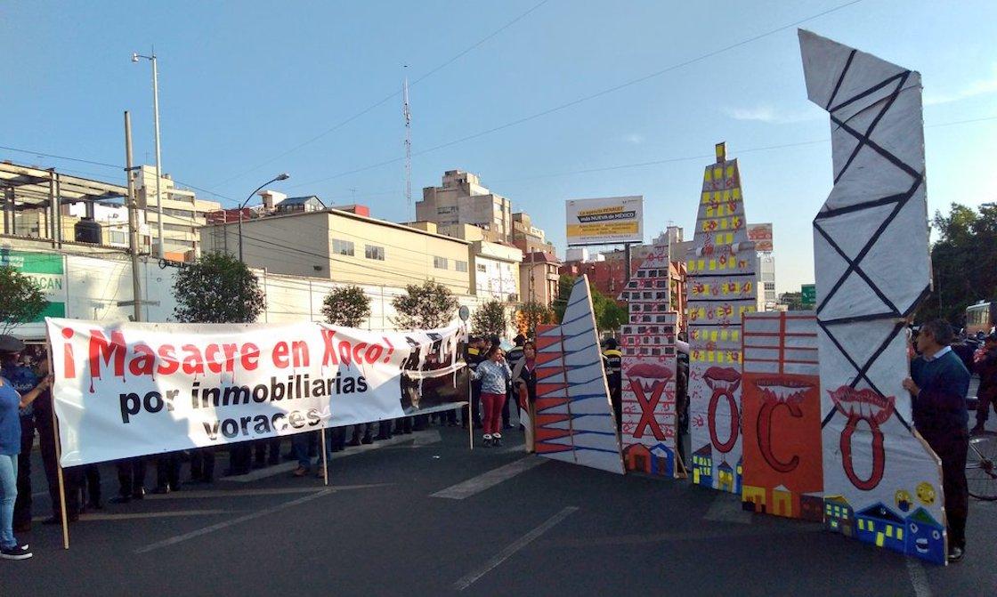 xoco-agua-cdmx-mitikah-protesta