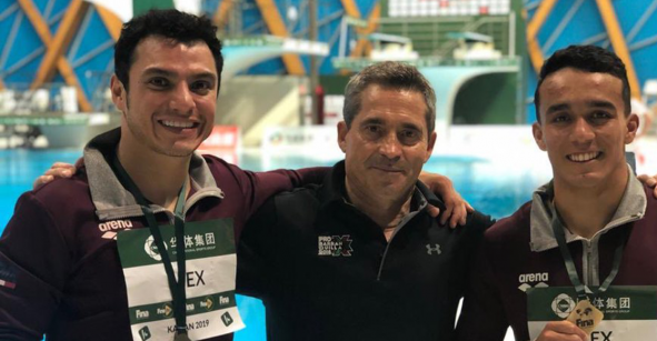Bronce para los mexicanos Yahel Castillo y Juan Celaya en la Serie Mundial de Rusia