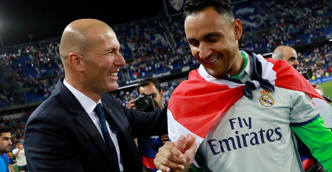 Real Madrid: ¿qué dijo Zidane sobre el futuro de Bale y Navas?