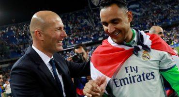 ¿Keylor se queda? Zidane da una última esperanza de la permanencia de Navas en el Real Madrid