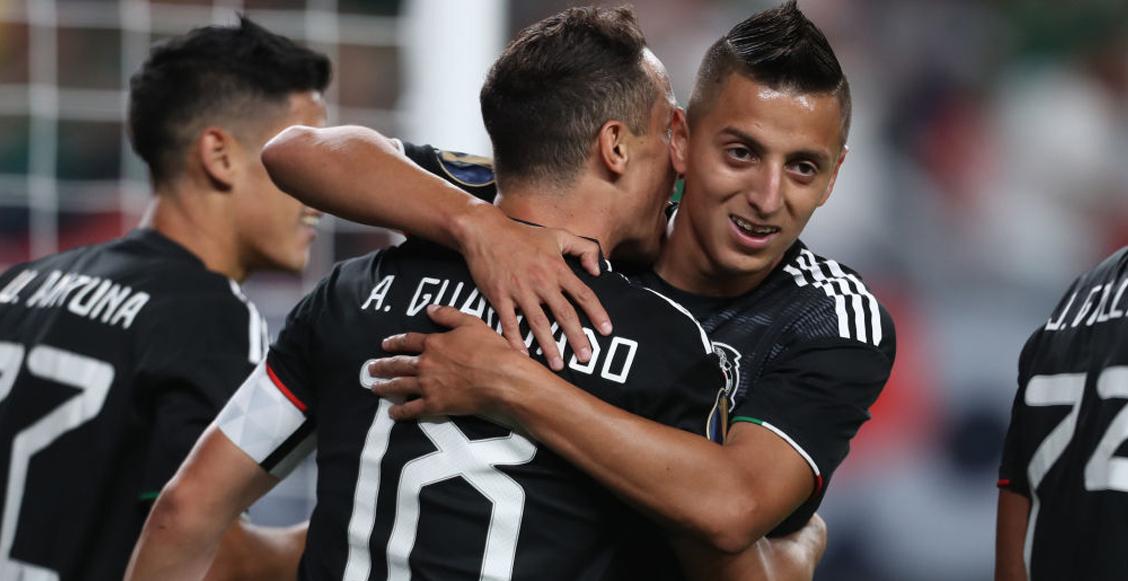 Este sería el 11 inicial de la Selección Mexicana para enfrentar a Martinica en la Copa Oro
