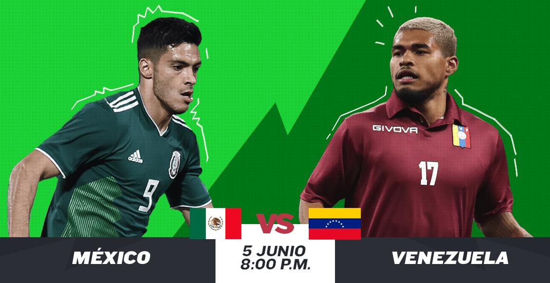 ¿Cuándo, cómo y dónde ver en vivo el México vs Venezuela?
