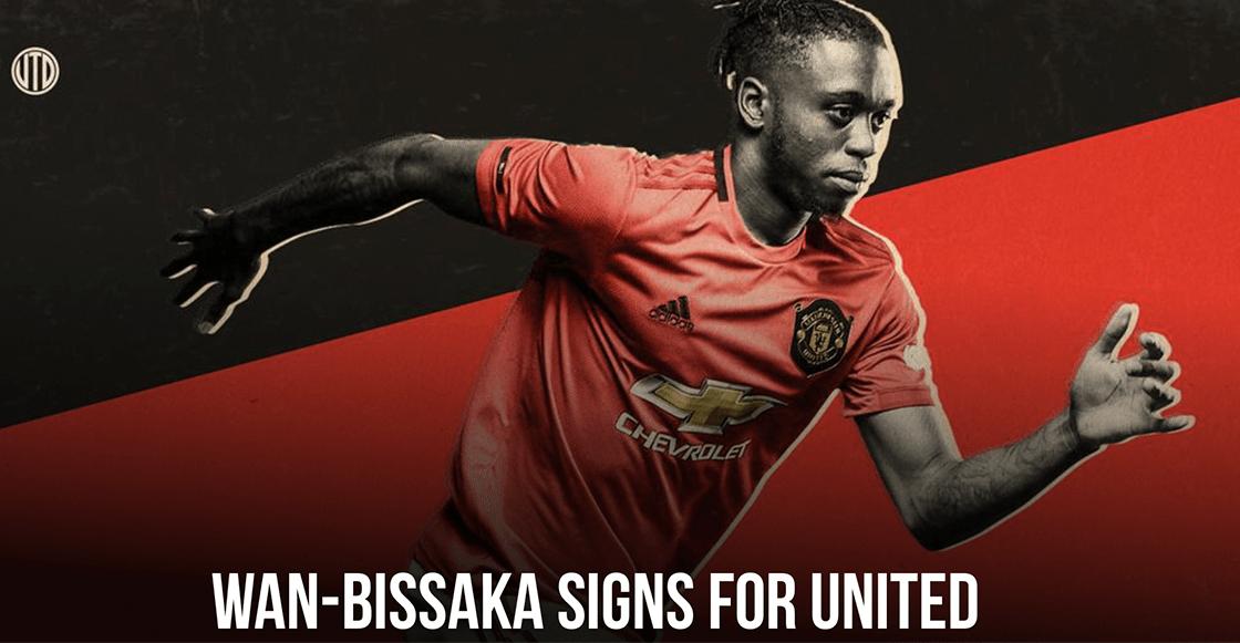 Él es Aaron Wan-Bissaka, el nuevo jugador del Manchester United