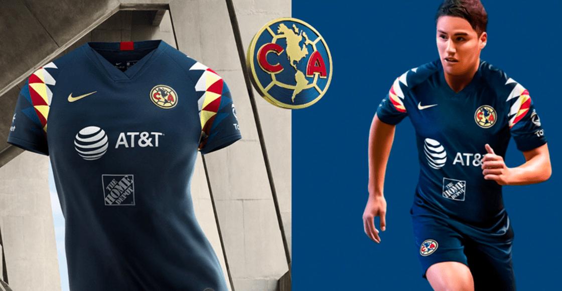 ¡Es bellísimo! América presentó su uniforme de visitante para el Apertura 2019