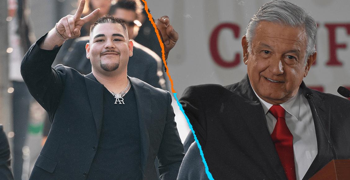 """""""Será un honor"""": Andy Ruiz aceptó invitación de AMLO para visitar México"""
