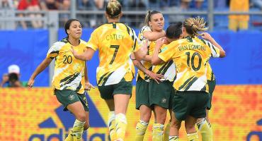 Australia sorprendió a Brasil y rompió dos rachas en el Mundial Femenil