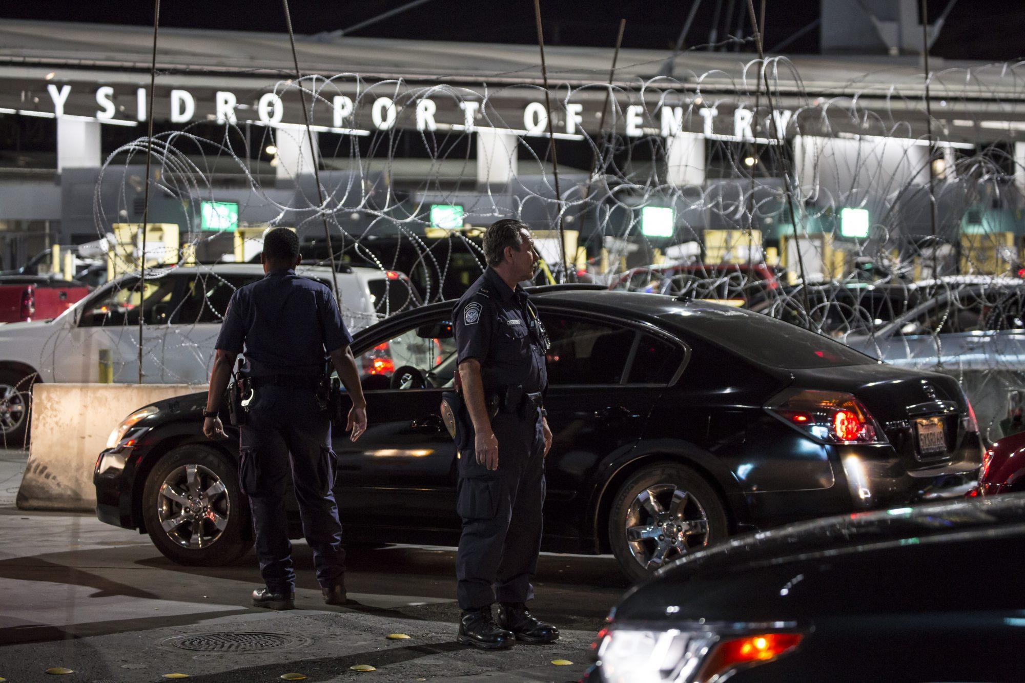 ¿Más broncas en la frontera?... se registró balacera en garita de San Ysidro