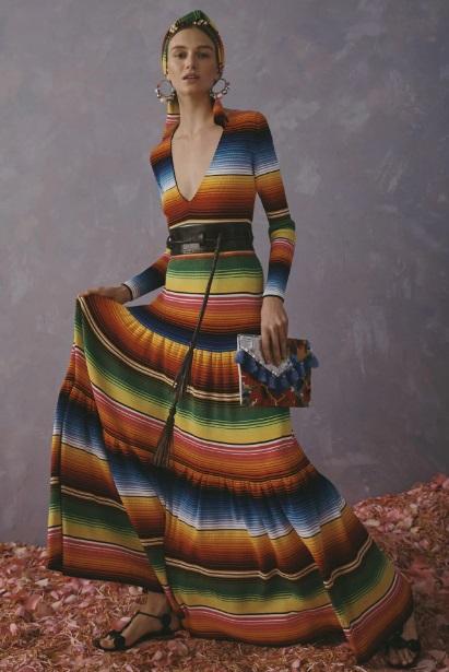 Secretaría de Cultura acusa a Carolina Herrera de apropiación cultural por su nueva colección
