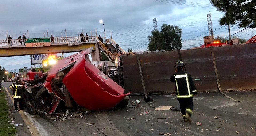 Carretera-Texcoco-Lecheria-accidente