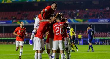 ¡Van los goles! Chile aplastó a Japón en su debut en la Copa América