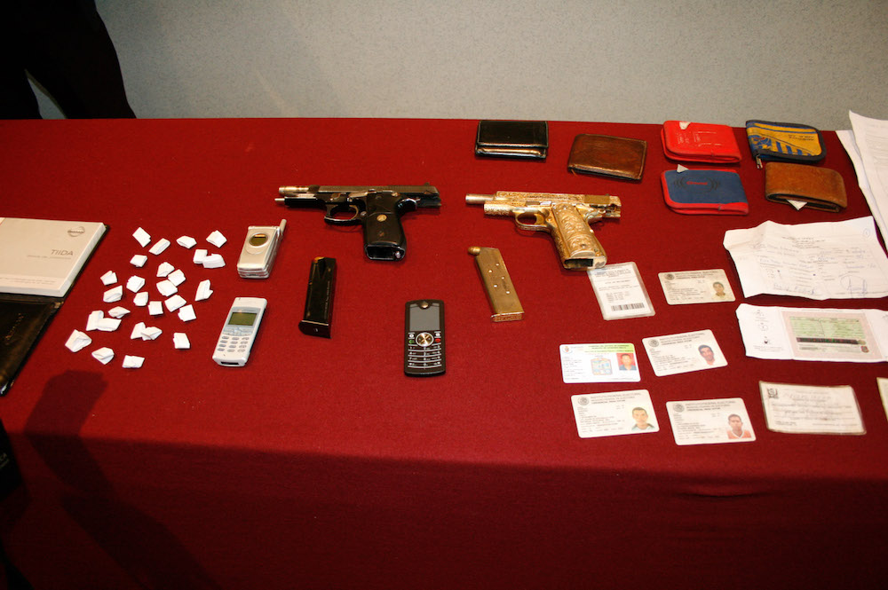 Confiscan-armas-droga-cártel-beltrán-leyva