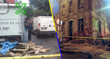 Se derrumbó una casa en la alcaldía Benito Juárez; 2 personas murieron