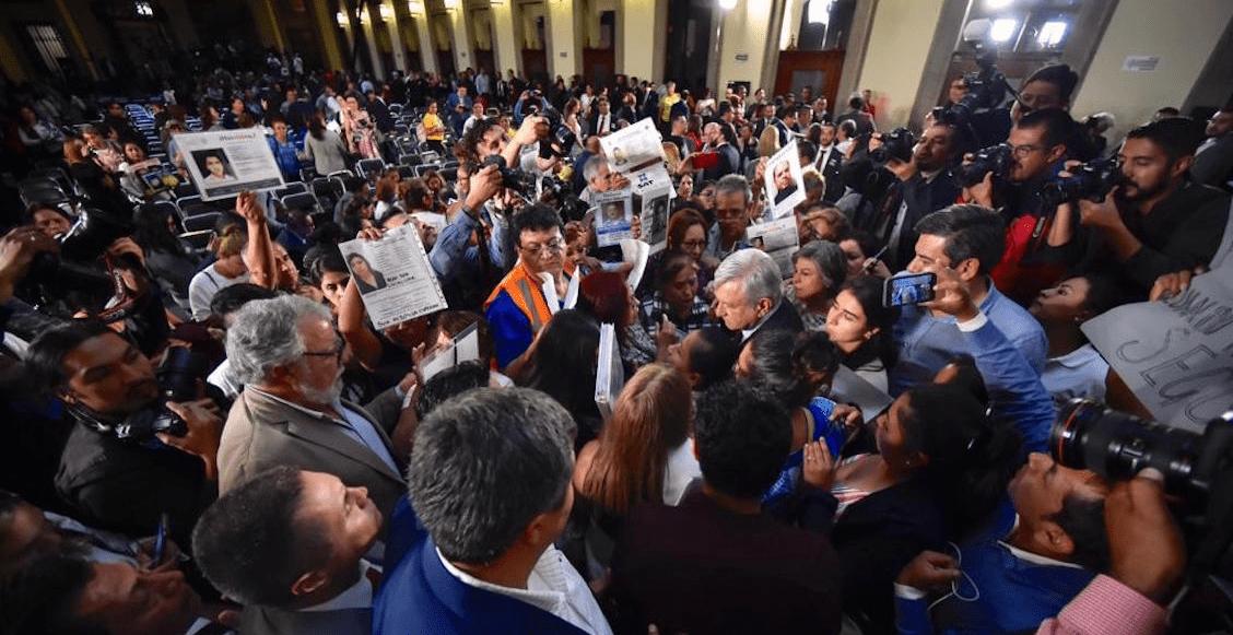 """""""Búsquenlos vivos"""", el reclamo de los familiares de desaparecidos al gobierno de AMLO"""