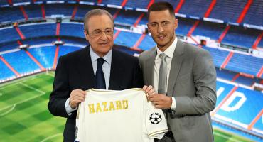 ¡Eden Hazard fue presentado oficialmente con el Real Madrid!
