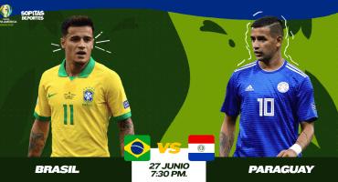 ¿Cómo, cuándo y dónde ver en vivo el Brasil vs Paraguay?