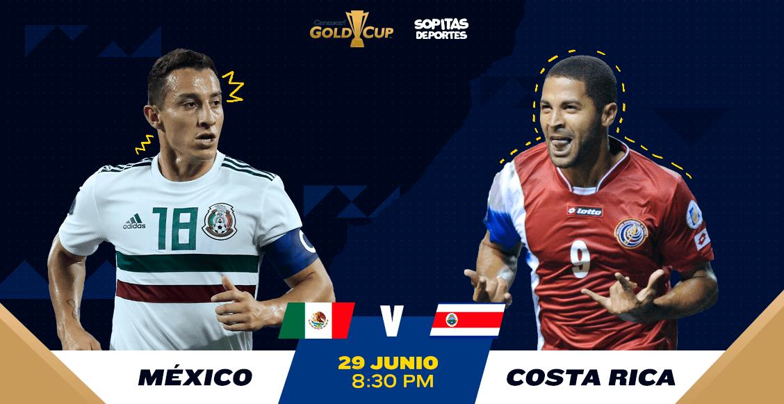 ¿Cuándo, cómo y dónde ver en vivo el México vs Costa Rica?