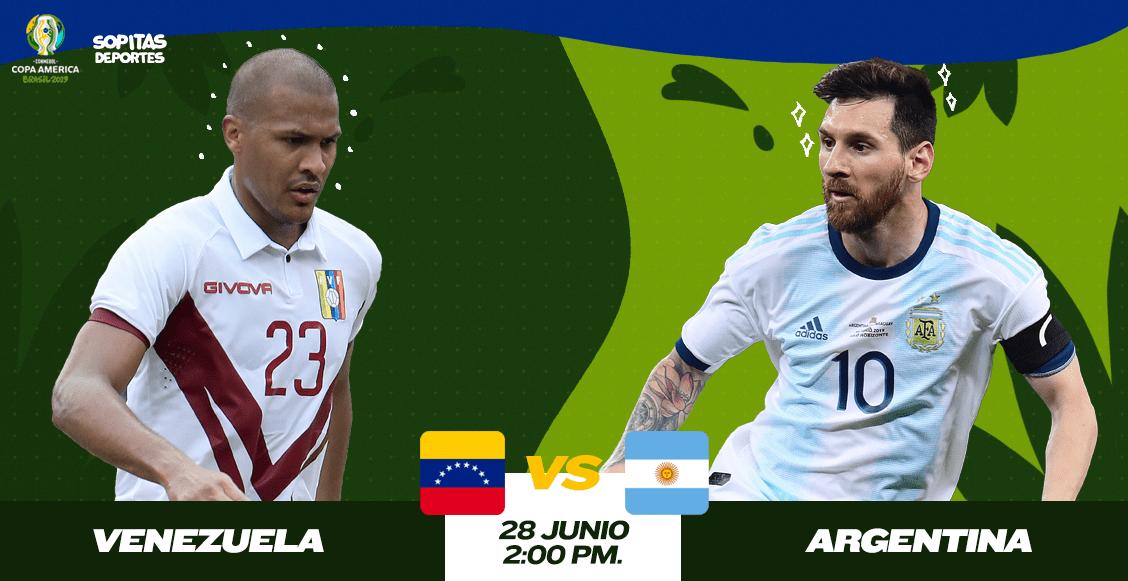 ¿Cómo, cuándo y dónde ver en vivo el Venezuela vs Argentina?