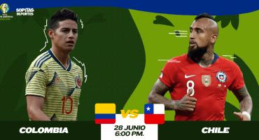 ¿Dónde, cuándo y cómo ver en vivo el Colombia vs Chile?