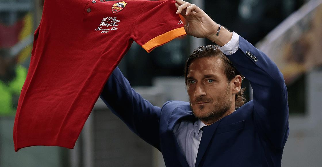 """""""Esperaba que este día no llegara"""": Francesco Totti quedó totalmente fuera de la Roma"""