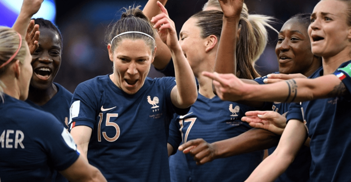 Acá te dejamos la goleada de Francia a Corea del Sur en el Mundial Femenil