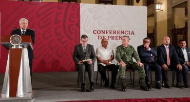 Anuncia AMLO Comisión Especial para trabajos de migración en la frontera sur