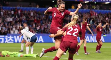 Inglaterra venció a Argentina y amarró su boleto a Octavos de Final del Mundial Femenil