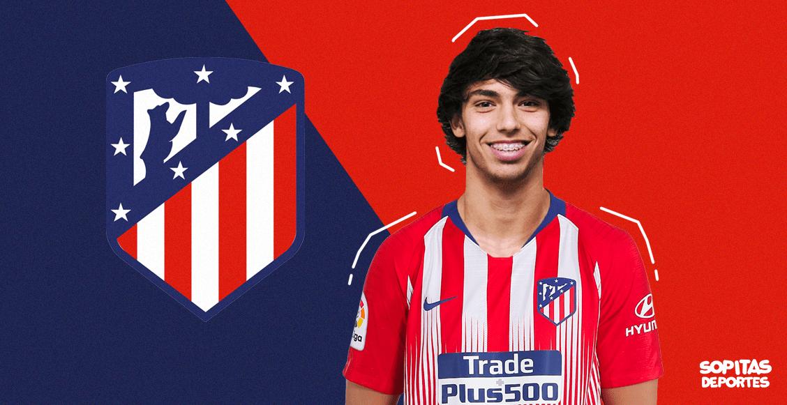 ¡La joya más cara! Joao Félix es nuevo jugador del Atlético de Madrid