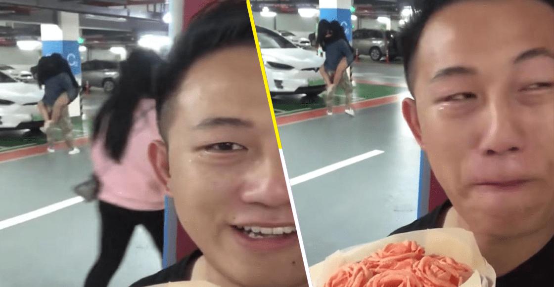 Un soldado más ha caído: Este joven le llevaba flores a su novia y... andaba con otro