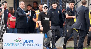 La carta con la que Maradona se despidió de Dorados
