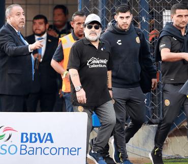 Esta es la emotiva carta con la que Maradona se despidió de Dorados