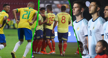 Estas son las convocatorias de los equipos que jugarán la Copa América 2019