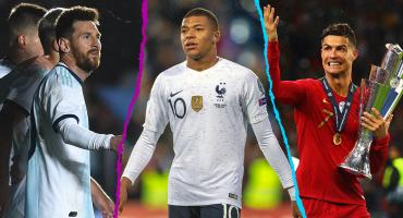 Mbappé en la cima: Acá la lista de los futbolistas más caros del mundo