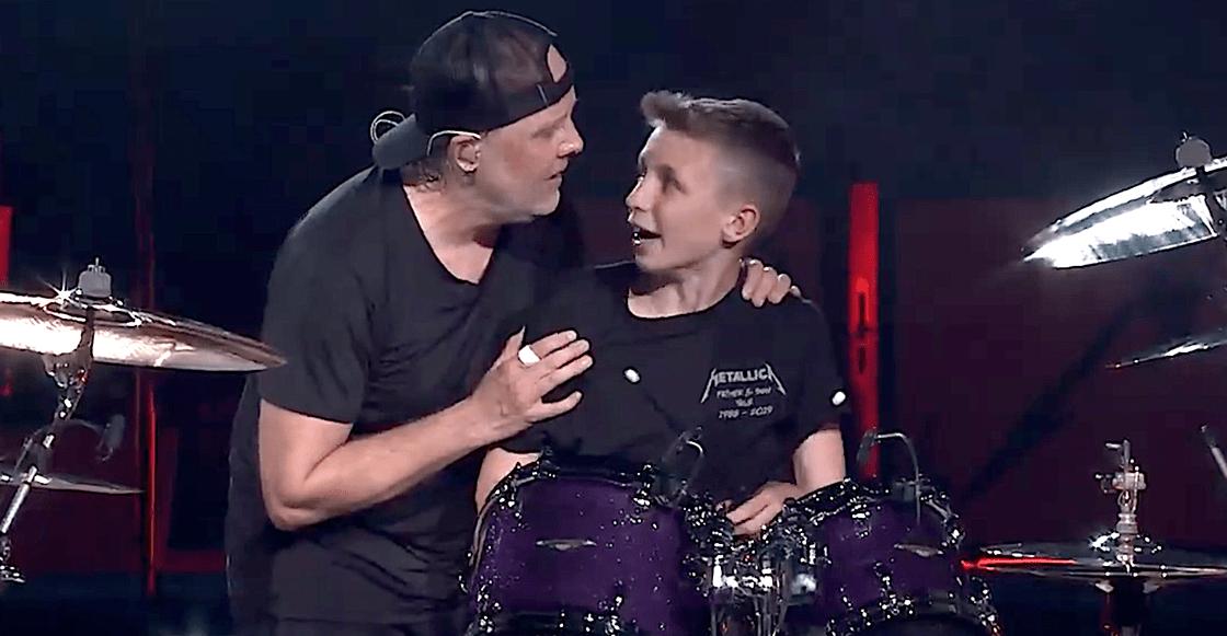 Tiene 13 años y Metallica lo invita a tocar con ellos