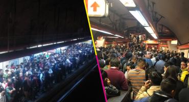 ¿¡Otra vez!? Usuarios reportan fallas en las estaciones de la Línea 7 del Metro CDMX