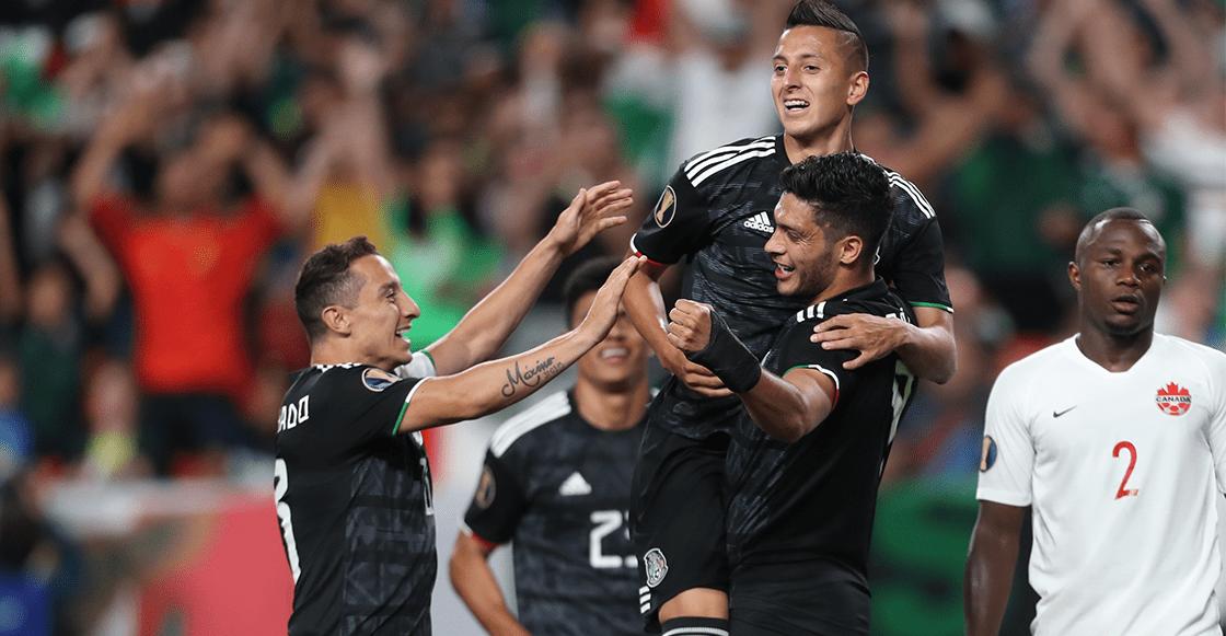 México derrotó a Canadá en la Copa Oro y acá te dejamos los goles