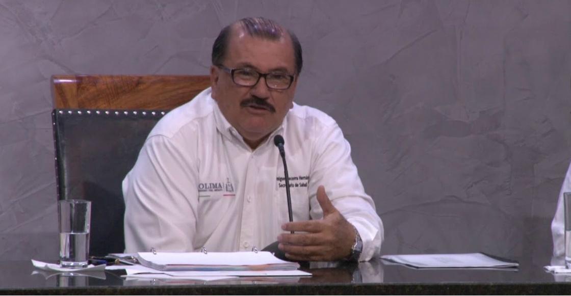"""¡Hay tabla! Tras llamar a diputados y médicos """"borrachos"""", el secretario de Salud de Colima renunció"""