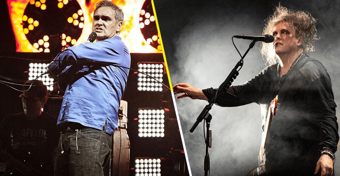 ¡Ya siéntese señor! Morrissey le pide disculpas a Robert Smith por algo que dijo hace 35 años