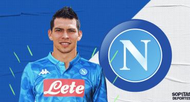 ¡'Chucky' italiano! Napoli anunció la llegada de Hirving Lozano