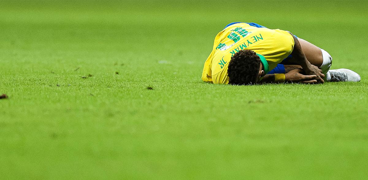 Neymar estará cuatro semanas fuera por lesión